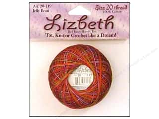 Tatting Accessories: Lizbeth Thread Size 20  #119 Jelly Bean