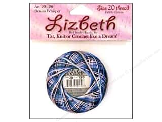 HHD Lizbeth Tat Thread Size 20 Denim Whisper