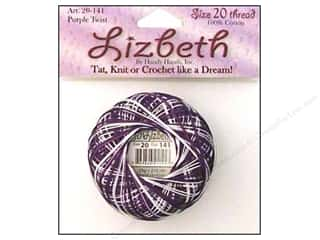HHD Lizbeth Tat Thread Size 20 Purple Twist