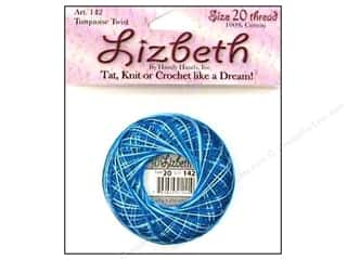 HHD Lizbeth Tat Thread Size 20 Turquoise Twist