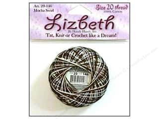 Lizbeth Thread Size 20  #146 Mocha Swirl