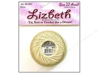 Tatting Accessories: Lizbeth Thread Size 20  #603 Ecru