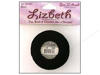 Lizbeth Thread Size 20  #604 Black