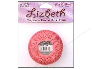 Lizbeth Thread Size 20  #622 Pink Medium
