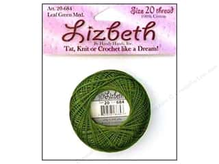 Tatting Accessories: Lizbeth Thread Size 20  #684 Leaf Green Medium