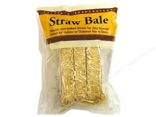 Fall / Thanksgiving Floral & Garden: FloraCraft Straw Bale 2 1/2 x  2 1/2 x 5 in.