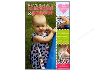 Baby $4 - $6: Sew Baby Reversible Sundress and Panties Pattern