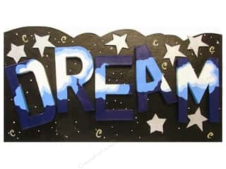 Plaques & Decorative Signs New: Paper Mache Dream Sign by Craft Pedlars