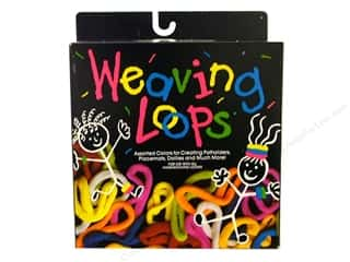 Looms Weaving: Wool Novelty Weaving Loops Refill Boxed Assorted 4oz