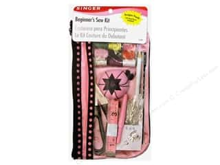 Singer Sewing Kits Beginners w/Dsgnr Pouch 130pc