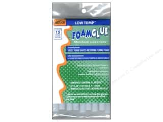 Home Decor Sale Glue Guns: Low Temp Foam Glue Stick Mini 4 in. 15 pc. by Ad Tech