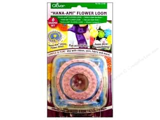 Yarn & Needlework: Clover Looms Hana-Ami Flower Set 6pc