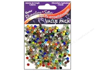 2013 Crafties - Best Adhesive: Darice Hot Fix Glass Stone 4mm Multi 750pc