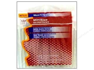 MultiTemp Hot Glue Stick Mini 4 in. 100 pc. by Ad Tech