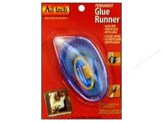 Double-sided Tape: Ad Tech Glue Runner 8.75 yd. Permanent