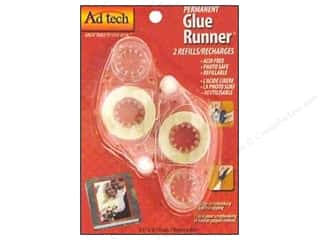 Ad Tech Glue Runner 8 3/4 yd. Refills Permanent 2 pc.