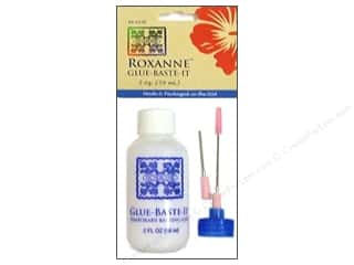 Roxanne Fabric Glues & Adhesives: Roxanne Glue-Baste-It Temporary Basting Glue 2 oz.
