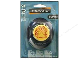Punches Fiskars Punch: Fiskars Punch 3-in-1 Corner Romantique