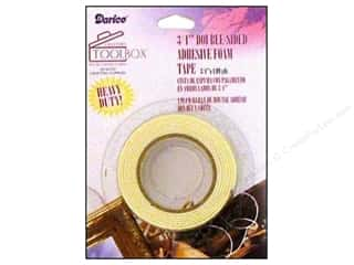 Double-sided Tape: Darice ToolBox Foam Tape Double Sided 3/4""