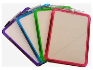 "Darice Dry Erase Board with Marker 11.4""x 8.5"" Assorted"