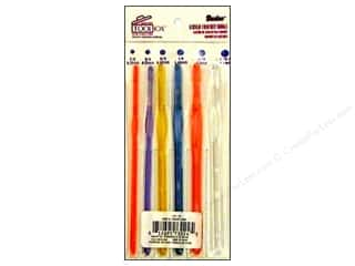 Tools Yarn & Needlework: Darice Tool Box Crochet Hook Set Acrylic 6pc