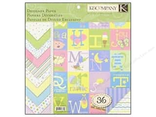 K&amp;Co Paper Pad 12x12 Snuggle Bug Designer