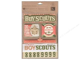 K&Co Sticker Flip Pack Boy Scouts Boy Scout