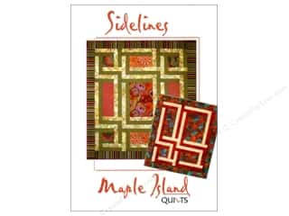 "Maple Island Quilts 12"": Maple Island Quilts Sidelines Pattern"