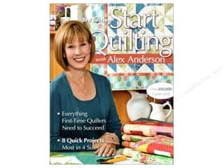 C&T Publishing Start Quilting With Alex Anderson Book