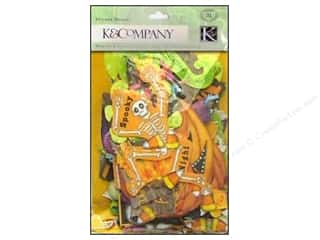 K &amp; Company: K&amp;Co Die Cut Cardstock Tim Coffey Halloween