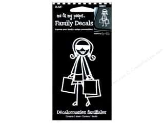 This & That Family: Plaid Peeps Family Decals Shopping Mom