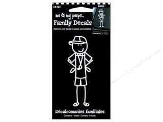 Unique Clearance: Plaid Peeps Family Decals Coaching Dad