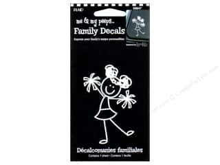 This & That Family: Plaid Peeps Family Decals Cheerleader Girl