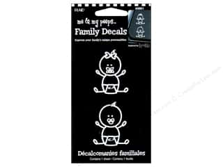 Craft & Hobbies Family: Plaid Peeps Family Decals Newborn Infant