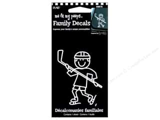 Plaid Peeps Family Decals Hockey Boy
