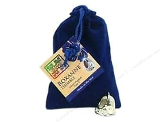 Grace Company, The Sewing Gifts & Gift Notions: Roxanne Thimble Sterling Silver Plated Size 5