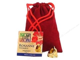 Roxanne Thimble 14K Gold Plated Size 3