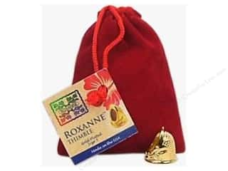 Finger Quilting Notions: Roxanne Thimble 14K Gold Plated Size 5