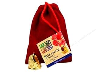 Thimbleberries Sewing Gifts & Gift Notions: Roxanne Thimble 14K Gold Plated Size 7