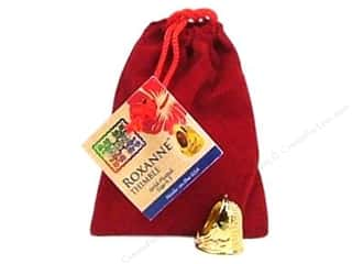 Thimbleberries Sewing Gifts & Gift Notions: Roxanne Thimble 14K Gold Plated Size 6.5