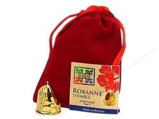 Roxanne Thimble 14K Gold Plated Size 8