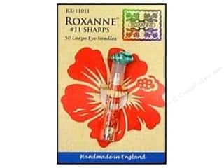 Doll Making Needles / Hand Needles: Roxanne Hand Needles Applique/Sharps Large Eye 50pc Size 11