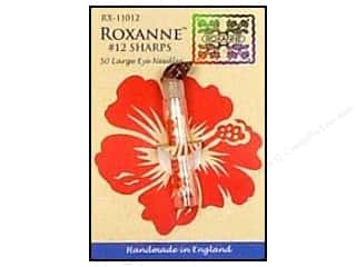 Quilting Hand Needles: Roxanne Hand Needles Applique/Sharps Large Eye 50pc Size 12