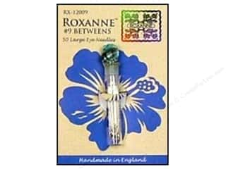 Doll Making Needles / Hand Needles: Roxanne Hand Needles Quilting/Betweens Large Eye 50pc Size 9