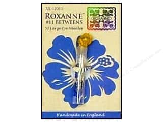Clover Sewing & Quilting Needles, Pullers, Cases & Threaders Needles / Hand Needles Darning Needle: Roxanne Hand Needles Quilting/Betweens Large Eye 50pc Size 11