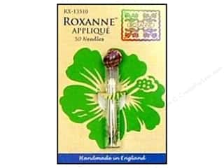 Doll Making Needles / Hand Needles: Roxanne Hand Needles Applique Large Eye 50pc
