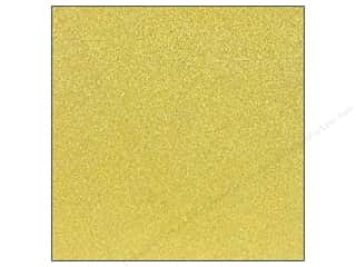 Stock Up Sale Sulyn Glitter: American Crafts 12 x 12 in. Cardstock Glitter Mustard (15 sheets)