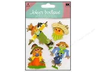 Jolee&#39;s Boutique Stickers Scarecrows