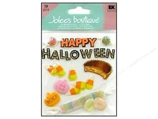Happy Lines Gifts Orange: Jolee's Boutique Stickers Happy Halloween