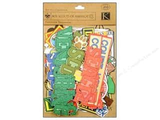 K&amp;Co Die Cut Cardstock Boy Scouts